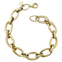 Versil 14k Gold Polished Link Bracelet