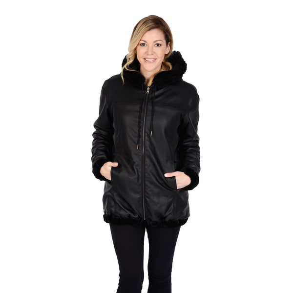 Excelled Women's Reversible Car Coat - Free Shipping Today ...