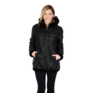 Excelled Women's Reversible Car Coat