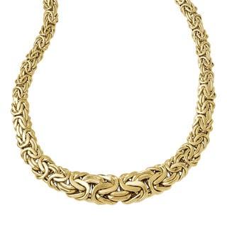 Versil 14k Gold Polished Fancy Link Necklace