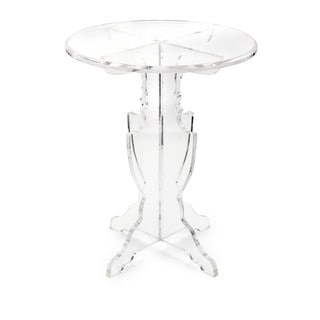 Prestige Clear/ frosted Acrylic Accent Table