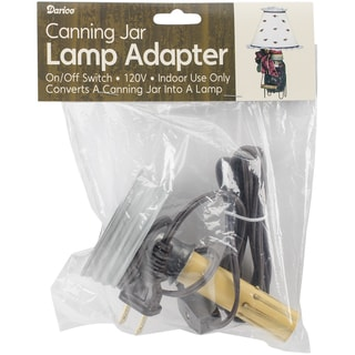 Canning Jar Candlestick Lamp Adapter