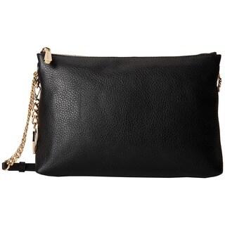 Michael Kors Jet Set Chain Item Black Top Zip Crossbody Handbag