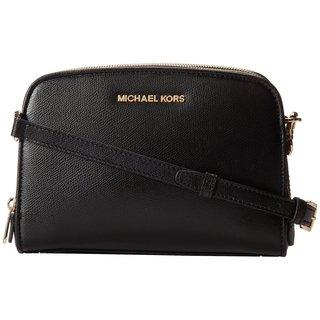 MICHAEL Michael Kors Reese Black Medium Messenger Bag