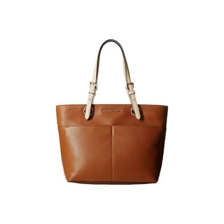 Michael Kors Jet Set Luggage Brown Top Zip Tote Bag