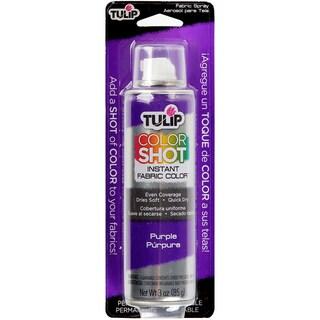 Tulip Color Shot Instant Fabric Color Spray 3ozPurple