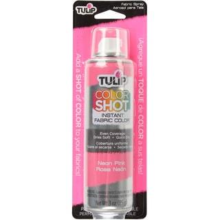 Tulip Color Shot Instant Fabric Color Spray 3ozNeon Pink