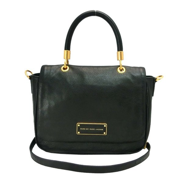484e361c0f52 Shop MARC BY MARC JACOBS Small Too Hot To Handle Black Leather Tote ...
