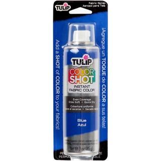 Tulip Color Shot Instant Fabric Color Spray 3ozBlue