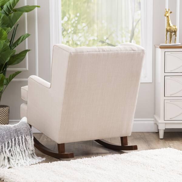 Super Shop Abbyson Thatcher Fabric Rocker Chair On Sale Free Short Links Chair Design For Home Short Linksinfo