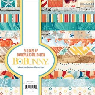 BoBunny Paper Pad 6inX6in 36/PkgBoardwalk