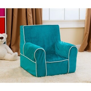 Abbyson Kids Baby's First Robin's Egg Blue Everywhere Chair