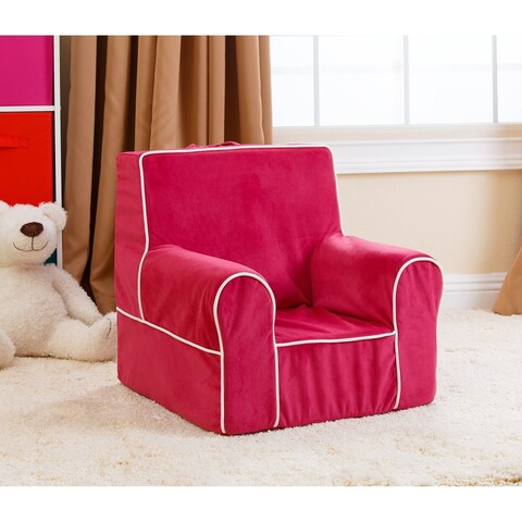 Abbyson Kids Baby's First Pink Everywhere Chair
