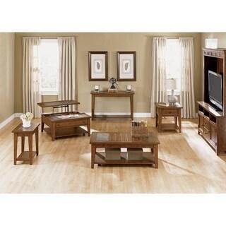 Hearthstone Rustic Oak Sofa Table
