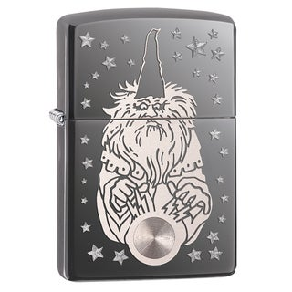 Zippo Fantasy Black Ice Windproof Lighter
