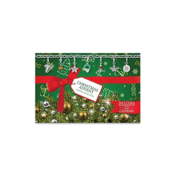 Christmas Advent Calendar Charm Jewelry Gift Set On Sale Overstock 10562584