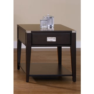 Harbor Town Contemporary Cherry End Table