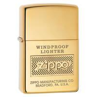 Zippo High Polish Brass Lighter