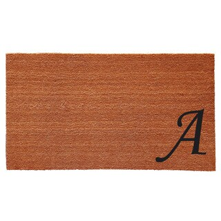 Urban Chic Monogram Doormat (1'6 x 2'6)