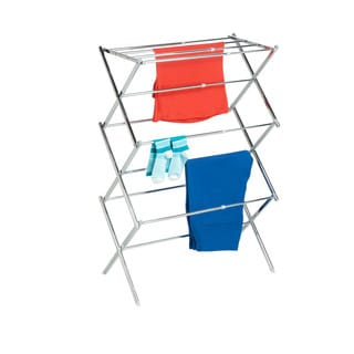 Honey Can Do DRY-03053 Chrome Expandable Drying Rack