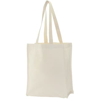 Canvas Tote Bag 14inX11inX5inNatural