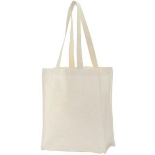 Canvas Tote Bag 14inX11inX5inNatural