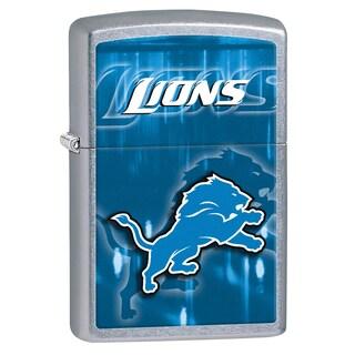 Zippo NFL Detroit Lions Brushed Chrome Lighter