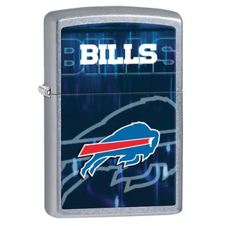 Zippo NFL Buffalo Bills Brushed Chrome Lighter