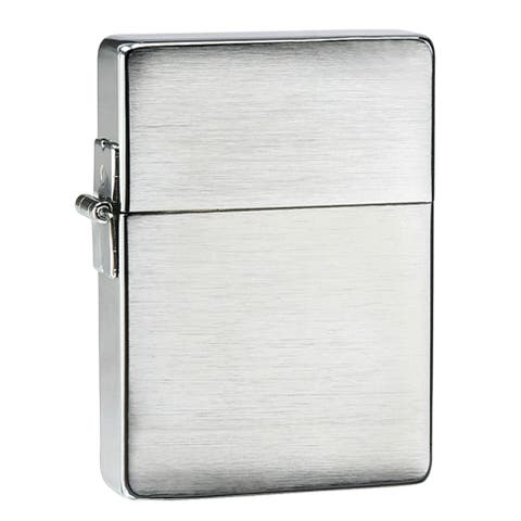 Zippo 1935 Replica Brushed Chrome Lighter