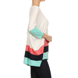 MOA Collection Women's Oversize Tunic Top