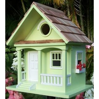 key lime Cottage Birdhouse