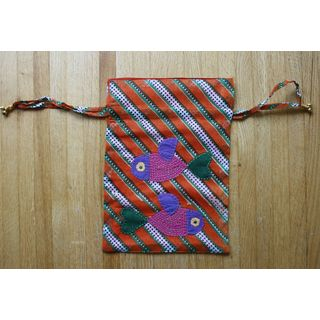 Pisces Handmade Draw String Pouch