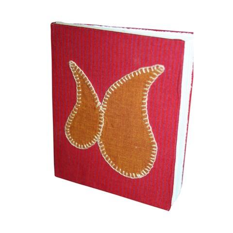 Handmade Brocade Handmade Hardcover Fabric Journal (India)