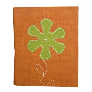 Aster Handmade Hardcover Fabric Journal