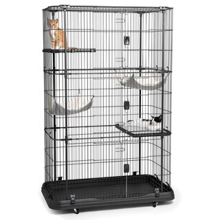 Prevue Pet Products Premium 4-level Cat Home