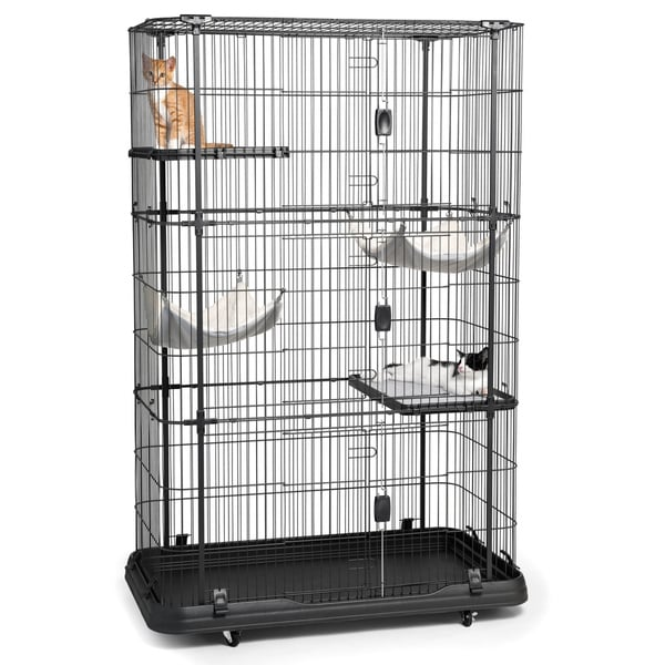 Prevue Pet Products Premium 4 Level Cat Home - Free Shipping Today ...