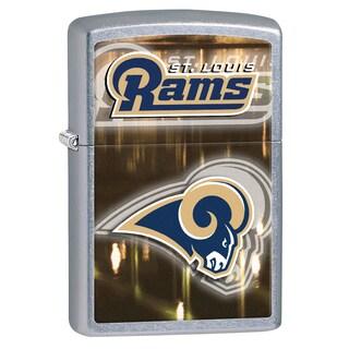 Zippo NFL St Louis Rams Street Chrome Windproof Lighter
