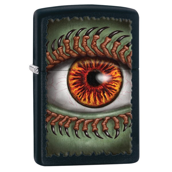 Zippo Monster Eye Black Matte Windproof Lighter
