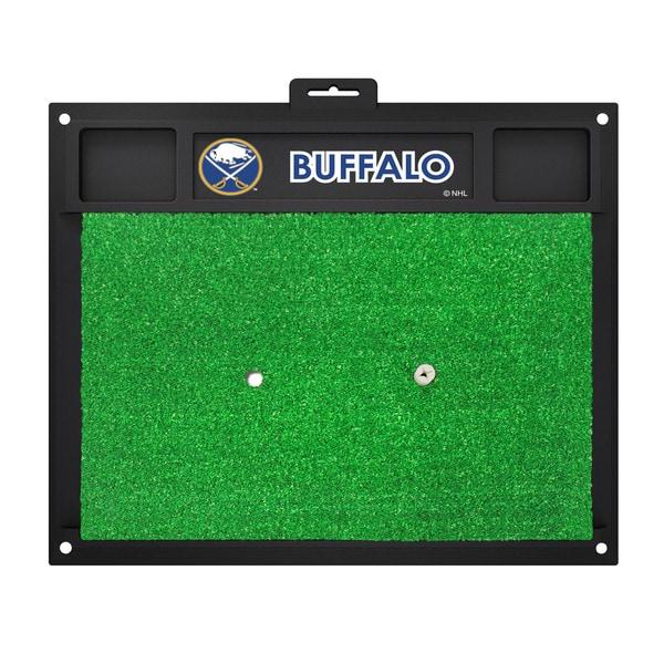 Fanmats Buffalo Sabres Green Rubber Golf Hitting Mat