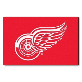 Fanmats Detroit Red Wings Red Nylon Starter Mat