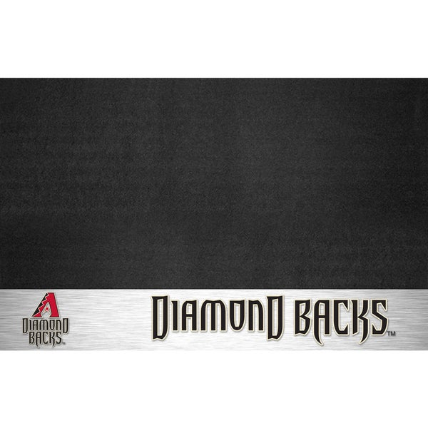 Fanmats Arizona Diamondbacks Black Vinyl Grill Mat