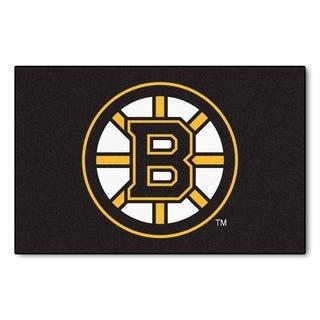 Fanmats Boston Bruins Black Nylon Starter Mat