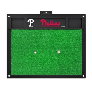 Fanmats Philadelphia Phillies Green Rubber Golf Hitting Mat