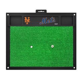 Fanmats New York Mets Green Rubber Golf Hitting Mat