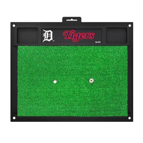 Fanmats Detroit Tigers Green Rubber Golf Hitting Mat