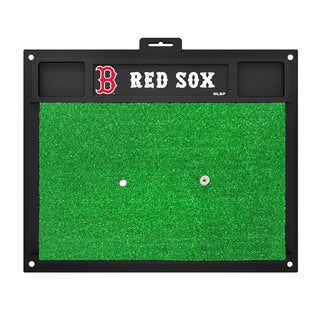 Fanmats Boston Red Sox Green Rubber Golf Hitting Mat