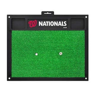 Fanmats Washington Nationals Green Rubber Golf Hitting Mat