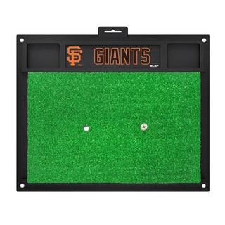 Fanmats San Francisco Giants Green Rubber Golf Hitting Mat