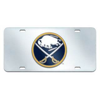 Fanmats Buffalo Sabres Chrome Metal License Plate Frame