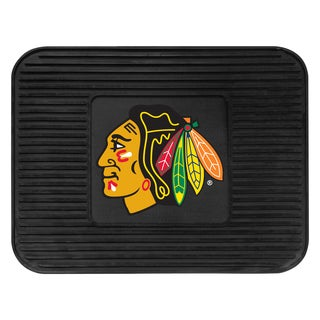 Fanmats Chicago Blackhawks Black Vinyl Utility Mat